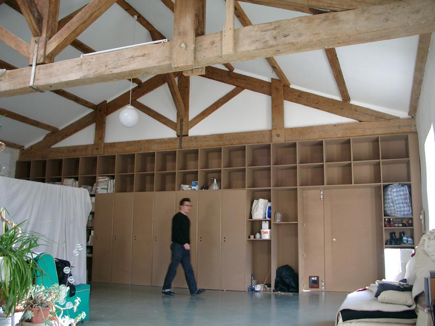Loft d 39 artistes opc - Construction d un loft ...